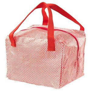 Ikea 365 Lunch Bag Red Size 8 X6 X6 703 934 38 Ebay