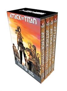 Attack On Titan Season 1 Part 1 Manga Box Set von Hajime Isayama (2018, Taschenbuch)