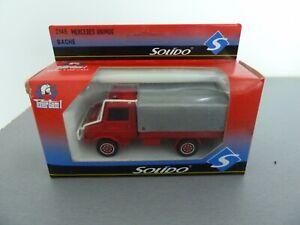 SOLIDO-1-43-Pompier-MERCEDES-UNIMOG-BACHE-SDI-du-TARN-2148