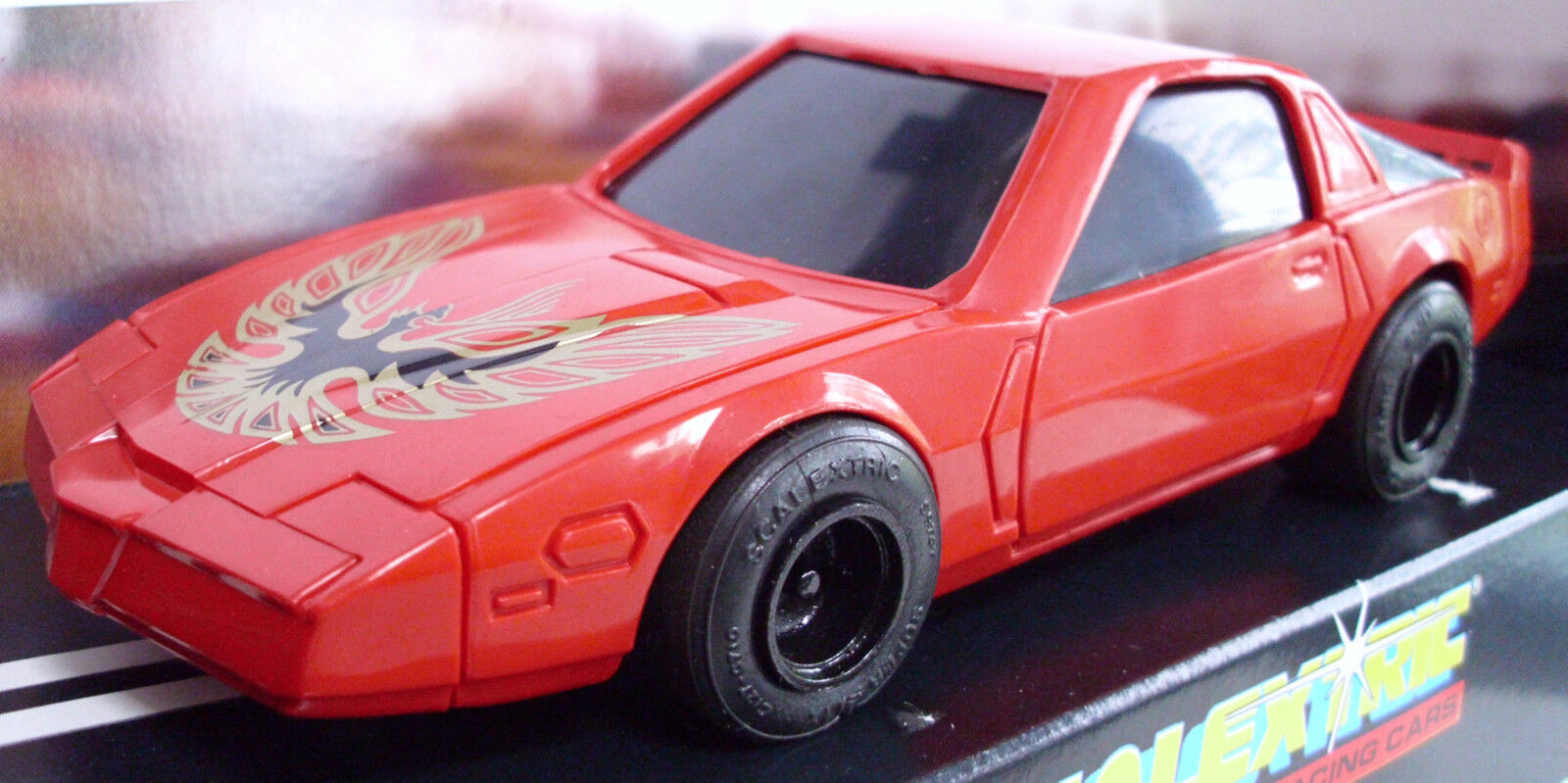 Scalextric C250 Pontiac Firebird - Red - Rare Car - Mint Boxed