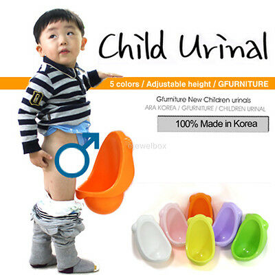 Children Potty Urinal Toilet training for boys pee Made in Korea