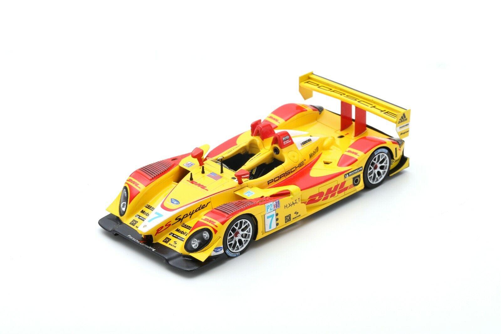 Spark S4185 - PORSCHE RS Spyder N°7 Champion LMP2 Class ALMS 2007 Penske R 1 43