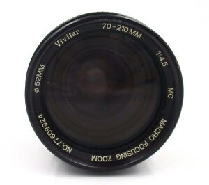 Vivitar-70-210mm-f-4-5-Tele-Photo-Zoom-Lens-Nikon-AIS-Mount