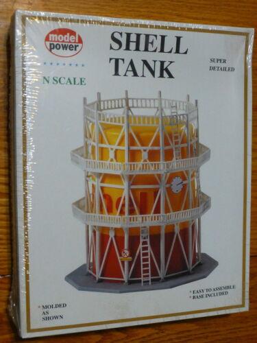 "4-3//16 x 4-3//16 x 4-5//8/"" 1 Model Power N #1567 Building Kit Shell Gas Tank"