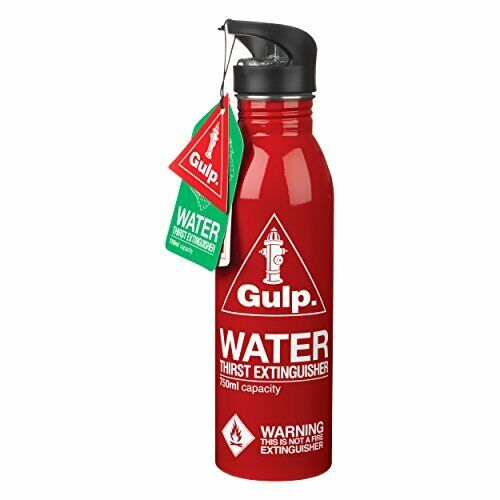 BEST Thirst Extinguisher Water Bottle Red The Ultimate Thirst Extinguisher GIFT