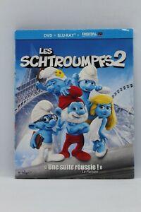 "blu ray masterisé en 4K "" les schtroumpfs 2 "" + dvd"