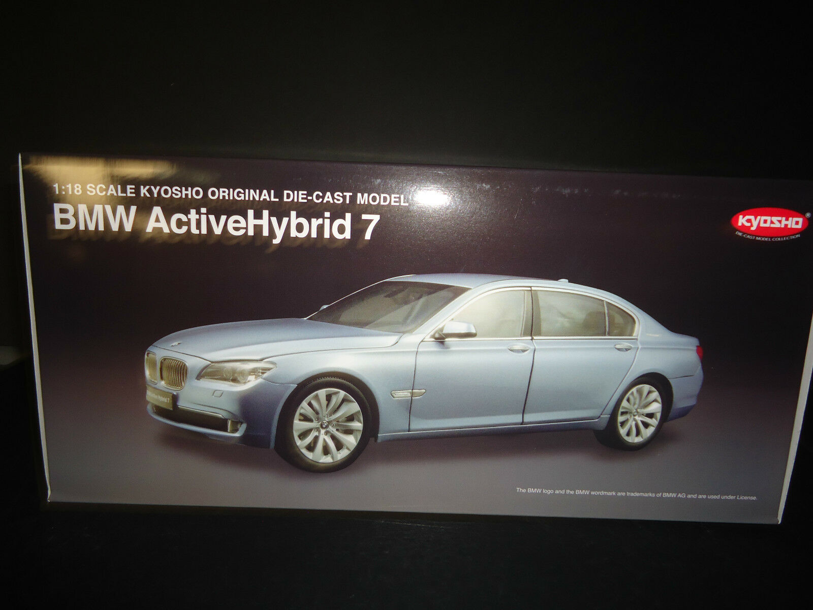 Kyosho BMW Active Hybride 7 Bleu 1 1 1 18 c8b93f