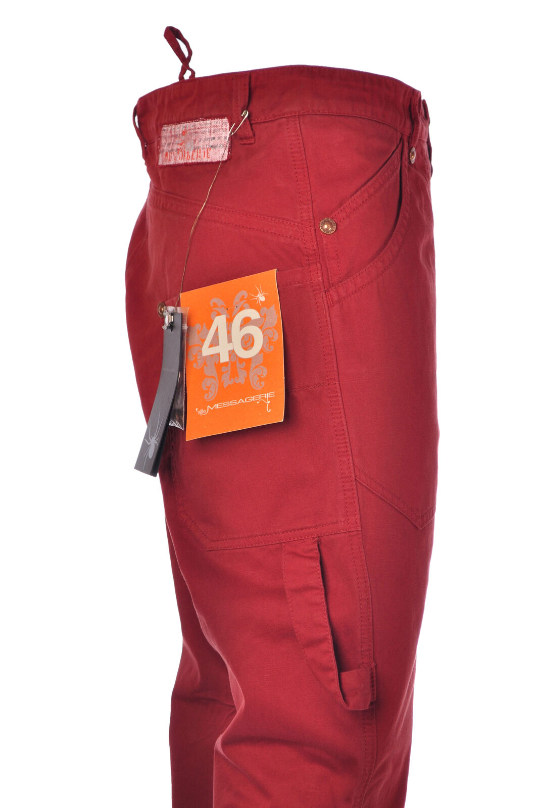 Messagerie  -  Pants - Male - Red - 2848831N174528