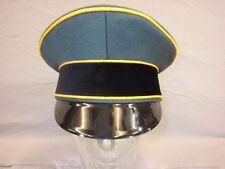 Schirmmütze Elite Offizier feldgrau Trikot Erel - Lubstein - gelbe Paspel Neu