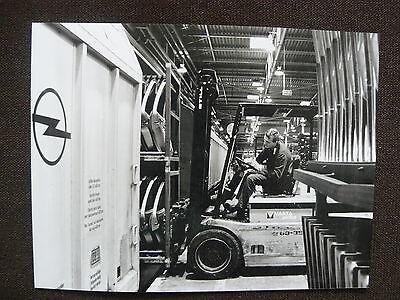 o0033 Opel Großraum-waggons Presse-foto Werk-foto Pressfoto