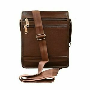 ABYS Leather Shoulder Sling Messenger Bag For Unisex