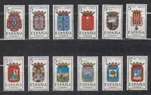 ESPANA-1963-MNH-NUEVO-SIN-FIJASELLOS-SPAIN-EDIFIL-1481-92-ESCUDOS