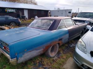 1968 Plymouth fury 2 door hardtop.