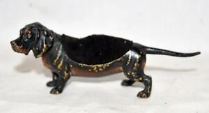 Vienna-Bronze-Geschutzt-Dachshund-Dog-Pen-Wipe-Nip-Cleaner-Figurine