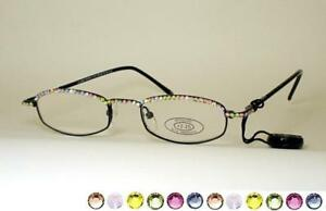 e34b5e8e4804 JC Jimmy Crystal New York GL180 Swarovski Reading Glasses Multicolor ...