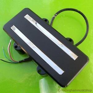 4 string bass guitar dual hotrail humbucker neck pickup. Black Bedroom Furniture Sets. Home Design Ideas