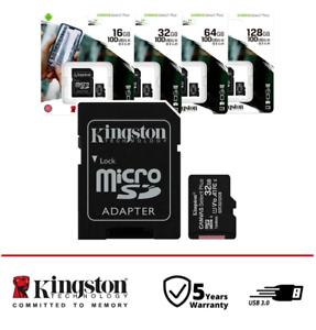 MICRO SD 8 16 32 64 128 GB scheda di memoria Kingston classe 10 microSD 100MB/S