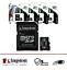 miniatura 2 - MICRO SD 8 16 32 64 128 GB scheda di memoria Kingston Classe 10 microSD 100MB/S