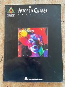 **BRAND NEW** SONGBOOK TABLATURE ALICE IN CHAINS GUITAR TAB FACELIFT