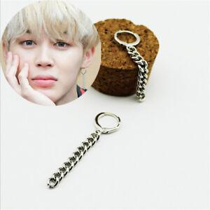 Image Is Loading 1pc Kpop Bts Jimin Earrings Bangtan Boys Ring