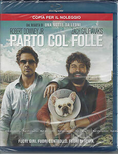 Blu-ray Disc **PARTO COL FOLLE** dal regista di Una Notte da Leoni Nuovo 2011