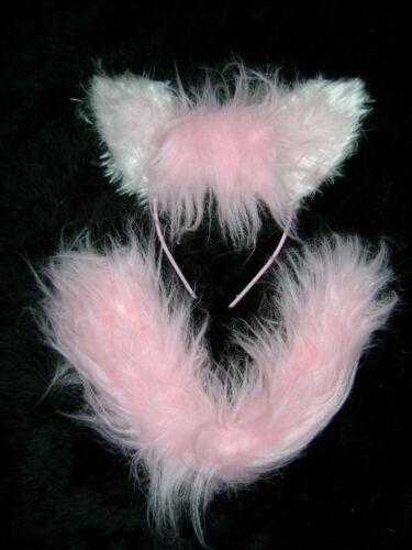 Mon petit poney cheval poney rose oreilles et queue robe fantaisie SET taille unique fait main