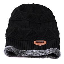 3f9e12b4634 item 8 Men Women Knit Baggy Beanie Oversize Fashion Winter Hat Ski Slouchy  Chic Cap UK -Men Women Knit Baggy Beanie Oversize Fashion Winter Hat Ski  Slouchy ...