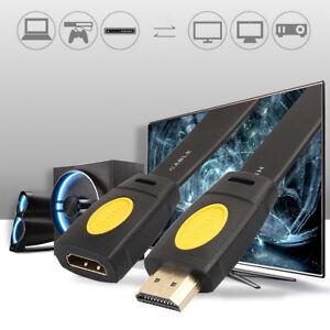 Eg-4K-HDMI-2-0-Estensione-Cavo-Estensore-Maschio-a-Femmina-LCD-HDTV-1080P-Cavi
