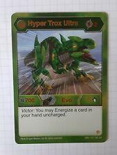 Bakugan Resurgence Titan Trox Ultra Holohex Card ENG/_164/_BE/_BR Mint//NM!