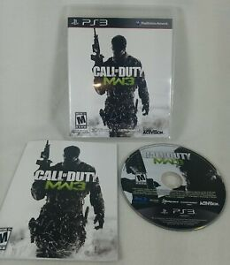2011 Call of Duty Modern Warfare 3 Sony PS3 Playstation 3 Complete! Clean Disc!