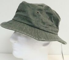 item 3 SCALA MEN S BUCKET HAT CAP FISHING SUN WASHED PACKABLE COTTON KHAKI 070fc9b9cc70