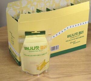 Jelly Sweet Banana & Milk Korea Food For snack candy 45g ...