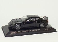 Maserati GranTurismo MC GT4 2010 schwarz black noir Minichamps 400101202 1:43