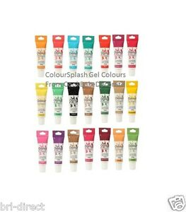 Colour Gel Food Colouring 25g Tube - Buttercream Fondant Icing ...