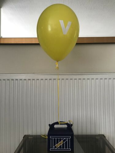 Fortnight Style V Vinyl x 6 Drop Box Supply Balloon Logo
