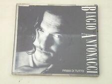 BIAGIO ANTONACCI - PRIMA DI TUTTO -RARO CD SINGOLO POLYGRAM 1992 1 TRACCIA PROMO