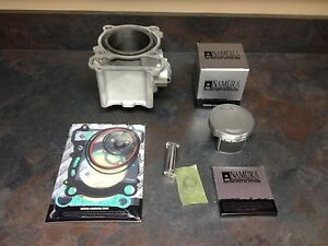 Details about Yamaha Rhino Kodiak Grizzly Wolverine 450 engine cylinder  piston top end kit