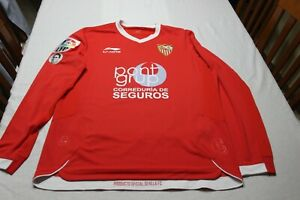 Camiseta-MATCH-WORN-SEVILLA-FC-19-SALVA-Inauguracion-Stadion-Nadorowy-2012-LEGIA