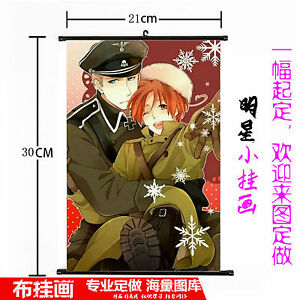 Hot Japan Anime Hetalia: Axis Powers  Wall Poster Scroll Home Decor 550