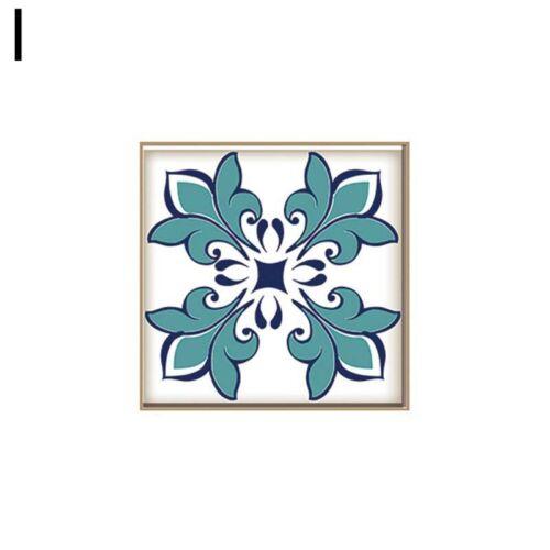 15PCS Creative Mosaic PVC Self-Adhesive Wall Stickers Waterproof Tile Stickers
