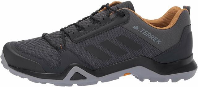 adidas outdoor Men's Terrex AX3 Hiking Boot, Grey Five/Black/Mesa, Size 9.5 psMa
