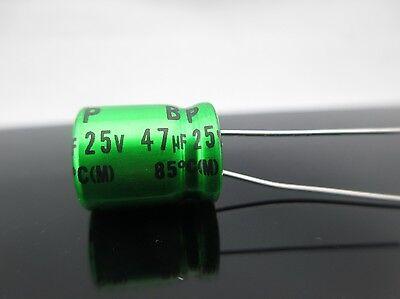 JAPAN 2PCS Nichicon MUSE ES BP 330uf 25v 330mfd Audio Capacitor Caps