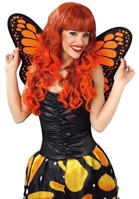 Ambizioso Da Donna Gialle Sovrana Butterfly Ali Costume Vestito Accessorio