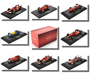 F1-Cars-Ferrari-echelle-1-43-ATLAS-Editions