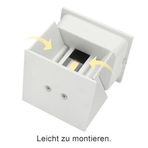 7W//12W LED Wandlampe Deckenleucht IP65 Flur Deko Dechkenlampe Wandleuchte Außen