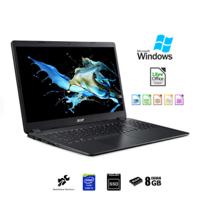 Notebook-Acer-i5-8th-dispaly-15-034-6-Pc-portatile-Ram-8Gb-Ssd-480GB-Windows-10-PRO
