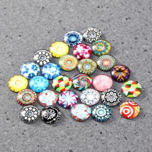 200pcs-Glass-Mosaic-Tiles-DIY-Jewelry-Making-Mixed-Round-Mosaic-Tiles-Supplies