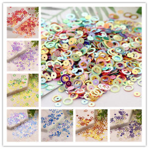 5g-6mm-Circles-Loose-Sequins-With-Golden-Tone-Paillette-DIY-Sewing-for-Dress-Use