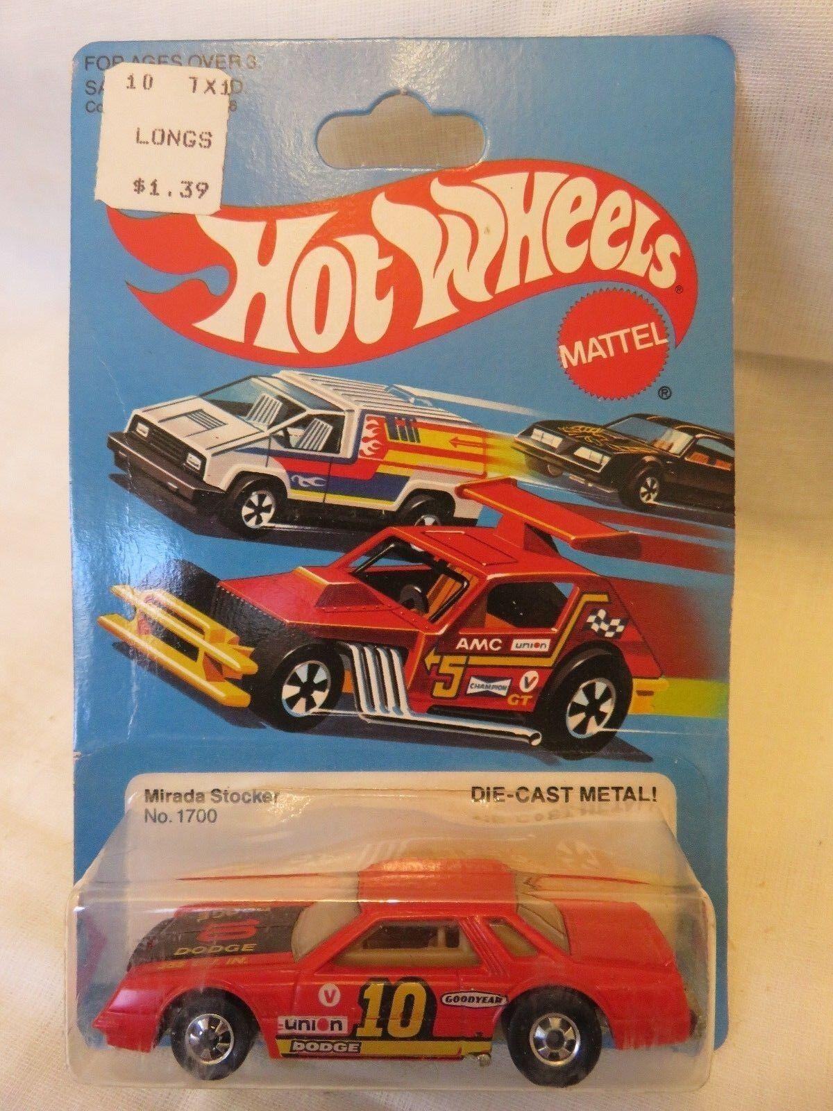 protección post-venta 1981 Vintage Hot Hot Hot Wheels mirada Stocker  10 Rojo 1700 Hong Kong B De Metal Fundido a Troquel  Venta barata