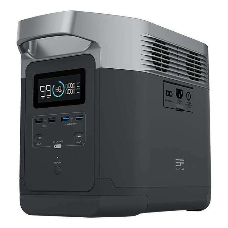 ECOflow Delta Power Station with 1800W AC output Battery